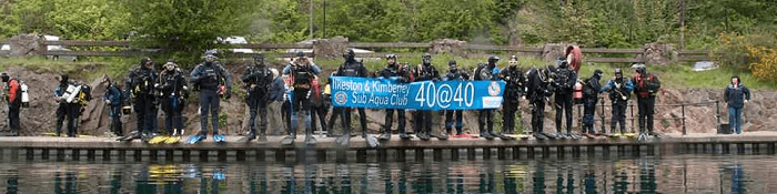 40 Divers for 40 Years